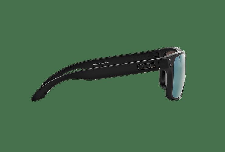 Oakley Holbrook Matte Black lente Emerald Iridium Polarized cod. OO9102-5055 - Image 9