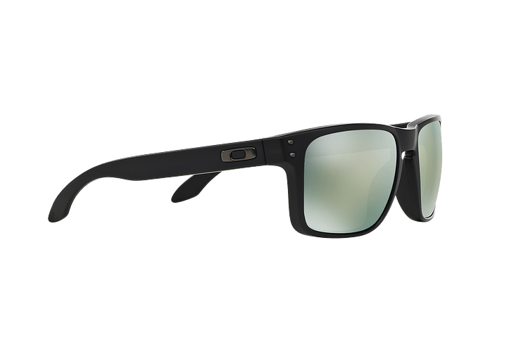 Oakley Holbrook Matte Black lente Emerald Iridium Polarized cod. OO9102-5055 - Image 10