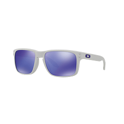 Oakley Holbrook Matte White lente Violet Iridium cod. OO9102-0555