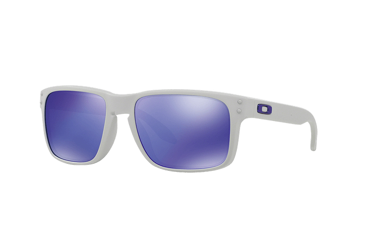 Oakley Holbrook Matte White lente Violet Iridium cod. OO9102-0555 - Image 1