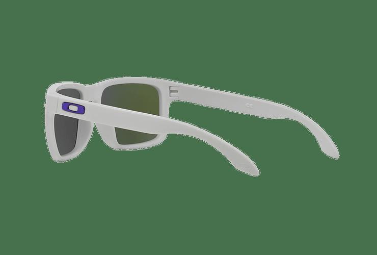 Oakley Holbrook Matte White lente Violet Iridium cod. OO9102-0555 - Image 4