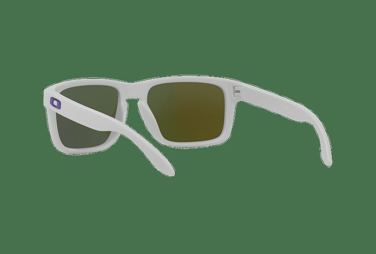 Oakley Holbrook Matte White lente Violet Iridium cod. OO9102-0555 - Image 5