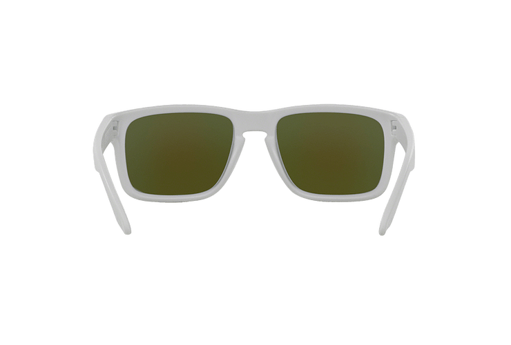 Oakley Holbrook Matte White lente Violet Iridium cod. OO9102-0555 - Image 6