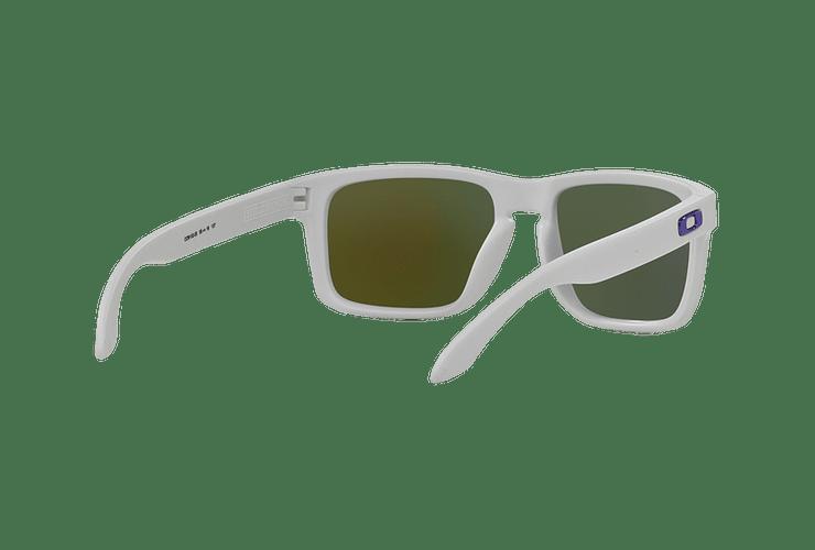 Oakley Holbrook Matte White lente Violet Iridium cod. OO9102-0555 - Image 7
