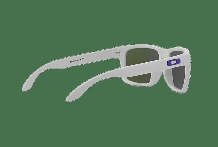 Oakley Holbrook Matte White lente Violet Iridium cod. OO9102-0555 - Image 8
