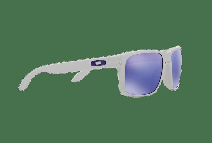 Oakley Holbrook Matte White lente Violet Iridium cod. OO9102-0555 - Image 10
