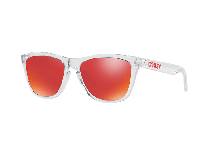 Oakley Frogskins Polished Clear lente Torch Iridium cod. OO9013-A555 - Image 1
