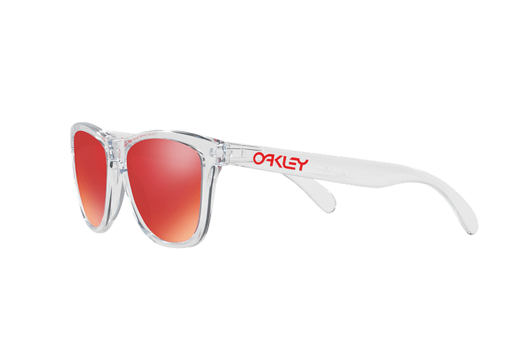 Oakley Frogskins Polished Clear lente Torch Iridium cod. OO9013-A555 - Image 2