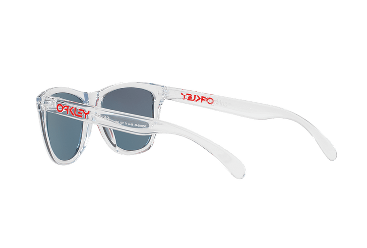Oakley Frogskins Polished Clear lente Torch Iridium cod. OO9013-A555 - Image 4
