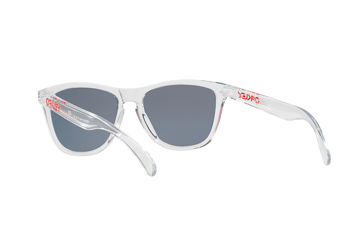 Oakley Frogskins Polished Clear lente Torch Iridium cod. OO9013-A555 - Image 5