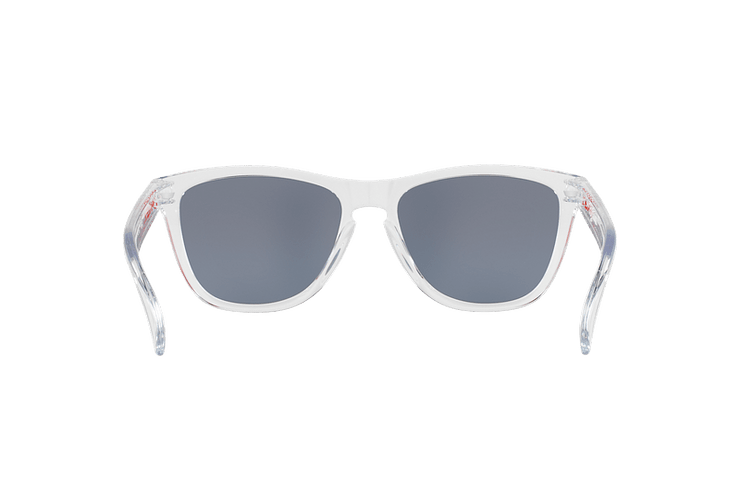 Oakley Frogskins Polished Clear lente Torch Iridium cod. OO9013-A555 - Image 6