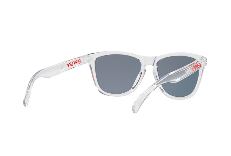 Oakley Frogskins Polished Clear lente Torch Iridium cod. OO9013-A555 - Image 7