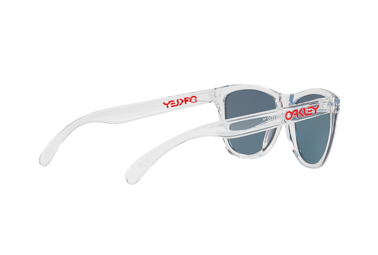 Oakley Frogskins Polished Clear lente Torch Iridium cod. OO9013-A555 - Image 8