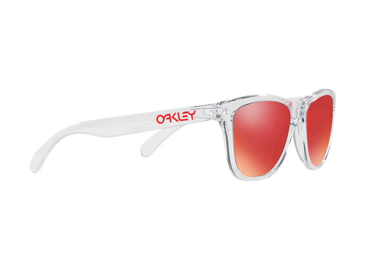 Oakley Frogskins Polished Clear lente Torch Iridium cod. OO9013-A555 - Image 10