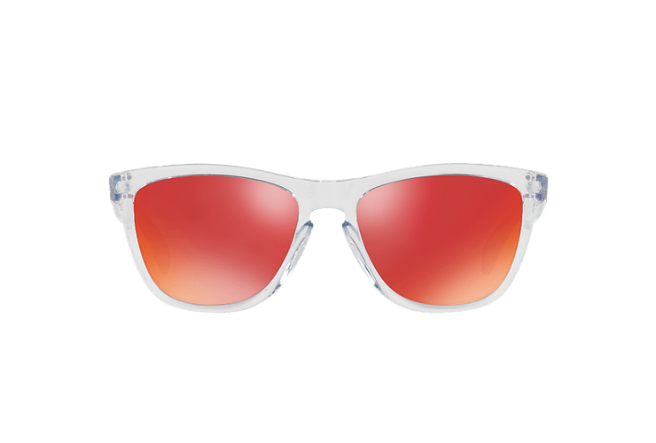 Oakley Frogskins Polished Clear lente Torch Iridium cod. OO9013-A555 - Image 12
