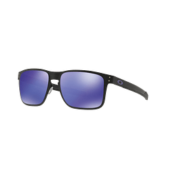 Oakley Holbrook Metal Matte Black lente Violet Iridium cod. OO4123-1455