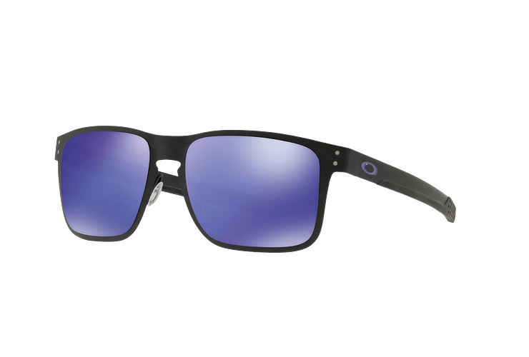 Oakley Holbrook Metal Matte Black lente Violet Iridium cod. OO4123-1455 - Image 1