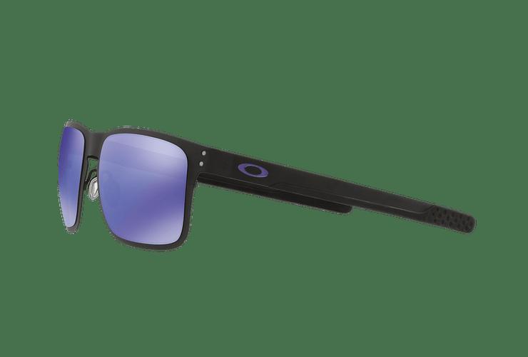 Oakley Holbrook Metal Matte Black lente Violet Iridium cod. OO4123-1455 - Image 2