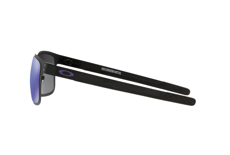 Oakley Holbrook Metal Matte Black lente Violet Iridium cod. OO4123-1455 - Image 3