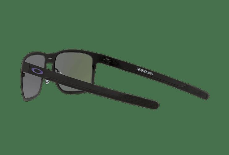 Oakley Holbrook Metal Matte Black lente Violet Iridium cod. OO4123-1455 - Image 4