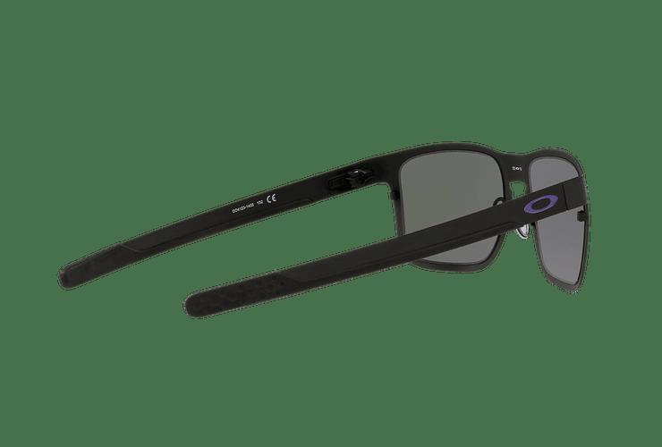 Oakley Holbrook Metal Matte Black lente Violet Iridium cod. OO4123-1455 - Image 8