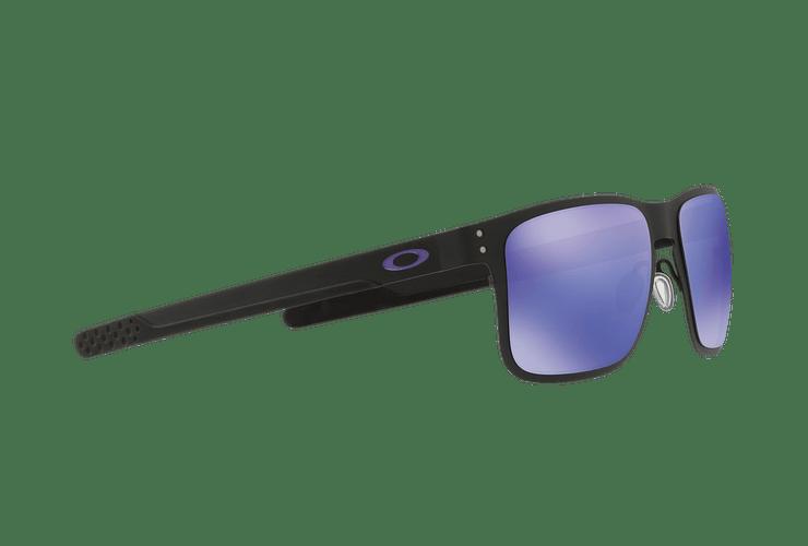 Oakley Holbrook Metal Matte Black lente Violet Iridium cod. OO4123-1455 - Image 10