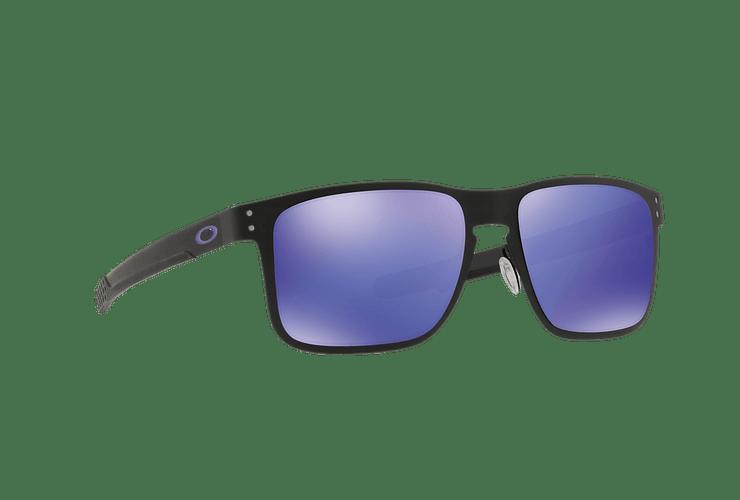Oakley Holbrook Metal Matte Black lente Violet Iridium cod. OO4123-1455 - Image 11