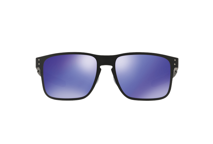 Oakley Holbrook Metal Matte Black lente Violet Iridium cod. OO4123-1455 - Image 12