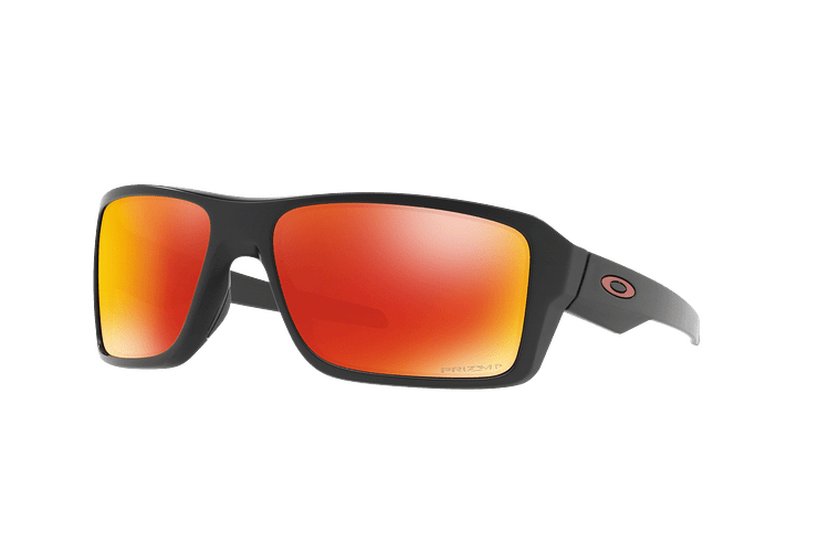 Oakley Double Edge Matte Black lente Ruby Prizm y Polarized cod. OO9380-0566 - Image 1