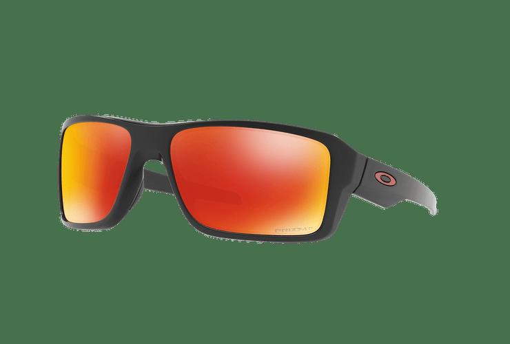Oakley Double Edge Matte Black lente Ruby Prizm y Polarized cod. OO9380-0566 - Image 1
