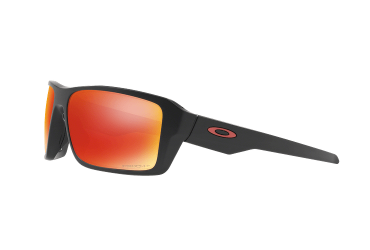Oakley Double Edge Matte Black lente Ruby Prizm y Polarized cod. OO9380-0566 - Image 2
