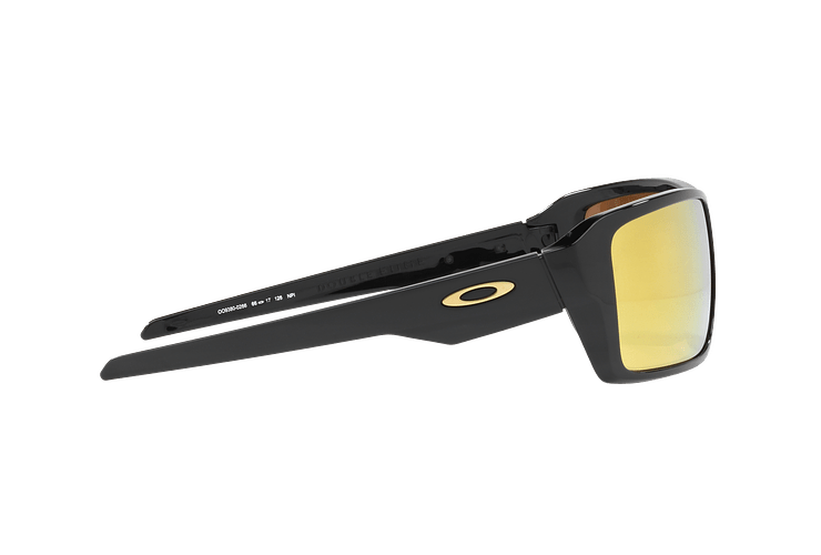 Oakley Double Edge Polished Black lente 24K Iridium cod. OO9380-0266 - Image 9