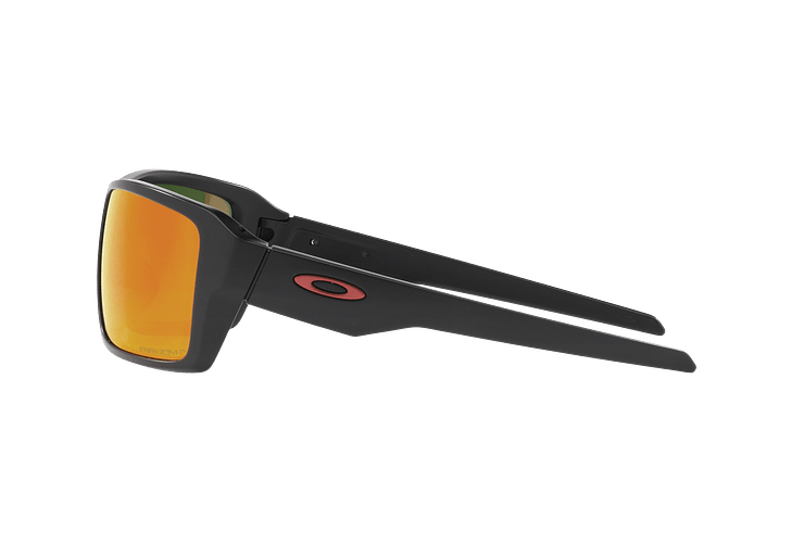 Oakley Double Edge Matte Black lente Ruby Prizm y Polarized cod. OO9380-0566 - Image 3