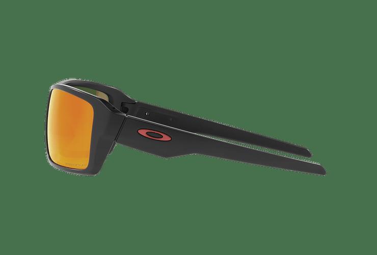 Oakley Double Edge Matte Black lente Ruby Prizm y Polarized cod. OO9380-0566 - Image 3