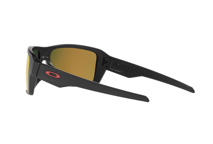 Oakley Double Edge Matte Black lente Ruby Prizm y Polarized cod. OO9380-0566 - Image 4