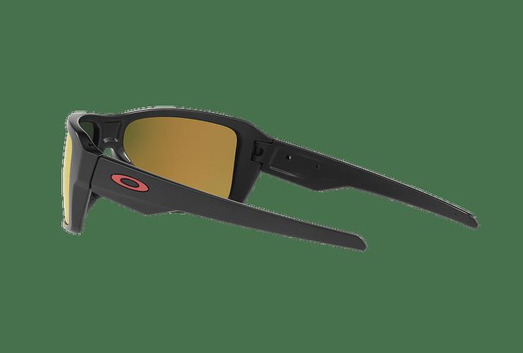 Oakley Double Edge Matte Black lente Ruby Prizm y Polarized cod. OO9380-0566 - Image 4