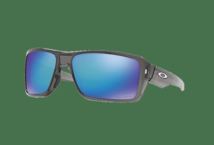 Oakley Double Edge Gray Smoke lente Sapphire Prizm y Polarized cod. OO9380-0666 - Image 1