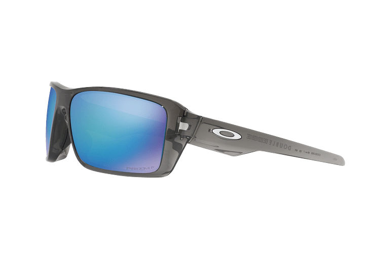 Oakley Double Edge Gray Smoke lente Sapphire Prizm y Polarized cod. OO9380-0666 - Image 2