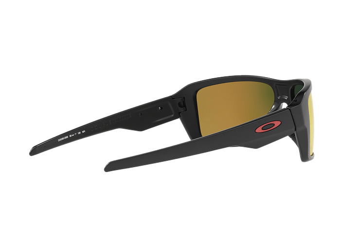 Oakley Double Edge Matte Black lente Ruby Prizm y Polarized cod. OO9380-0566 - Image 8