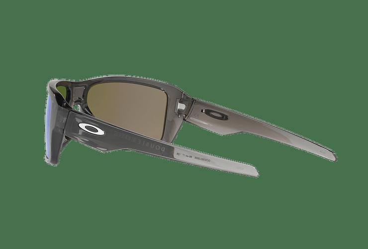 Oakley Double Edge Gray Smoke lente Sapphire Prizm y Polarized cod. OO9380-0666 - Image 4