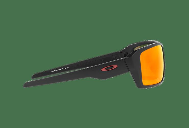Oakley Double Edge Matte Black lente Ruby Prizm y Polarized cod. OO9380-0566 - Image 9