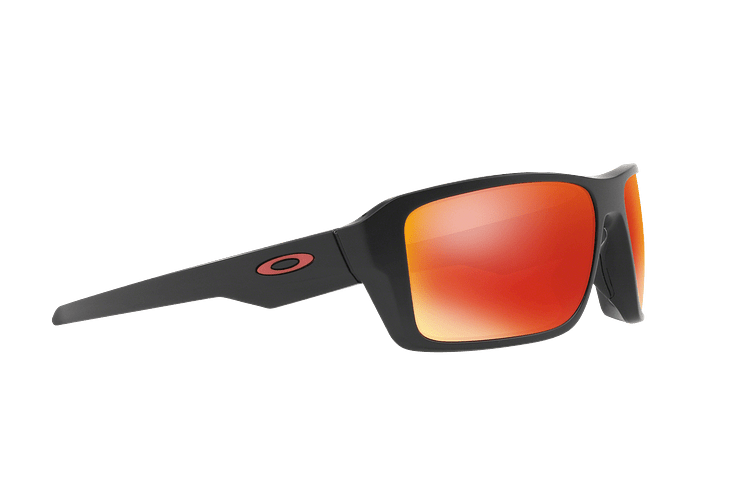 Oakley Double Edge Matte Black lente Ruby Prizm y Polarized cod. OO9380-0566 - Image 10