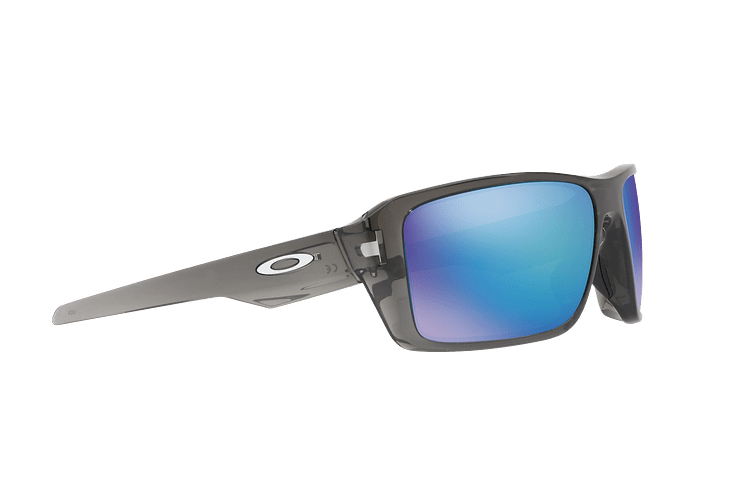Oakley Double Edge Gray Smoke lente Sapphire Prizm y Polarized cod. OO9380-0666 - Image 10