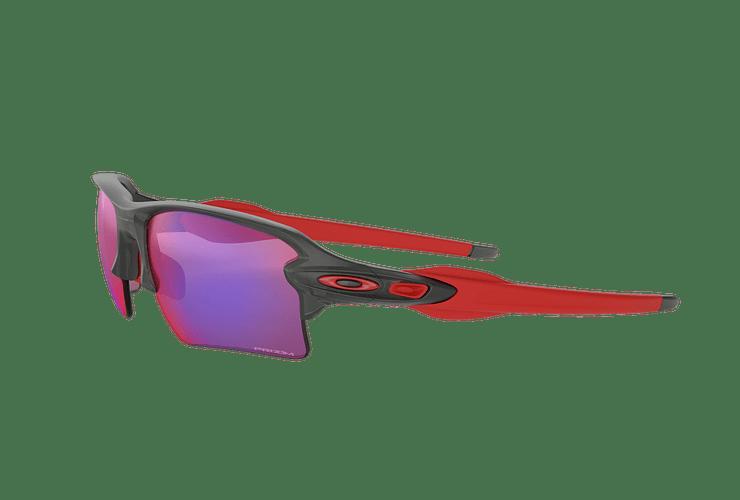 Oakley Flak 2.0 XL Matte Grey Smoke lente Road PRIZM cod. OO9188-0459 - Image 2
