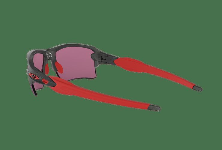 Oakley Flak 2.0 XL Matte Grey Smoke lente Road PRIZM cod. OO9188-0459 - Image 4