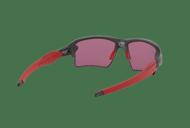 Oakley Flak 2.0 XL Matte Grey Smoke lente Road PRIZM cod. OO9188-0459 - Image 7