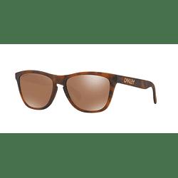 Oakley Frogskins Matte Tortoise lente Tungsten PRIZM cod. OO9013-C555