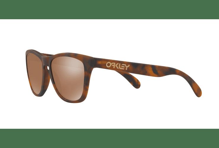 Oakley Frogskins Matte Tortoise lente Tungsten PRIZM cod. OO9013-C555 - Image 2