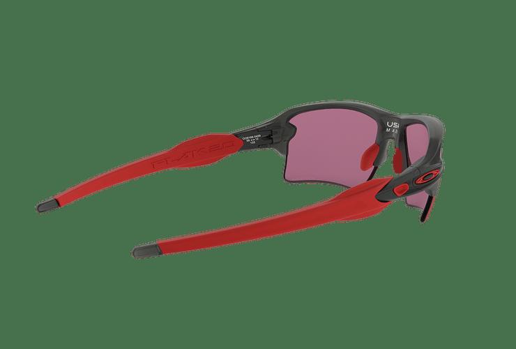 Oakley Flak 2.0 XL Matte Grey Smoke lente Road PRIZM cod. OO9188-0459 - Image 8