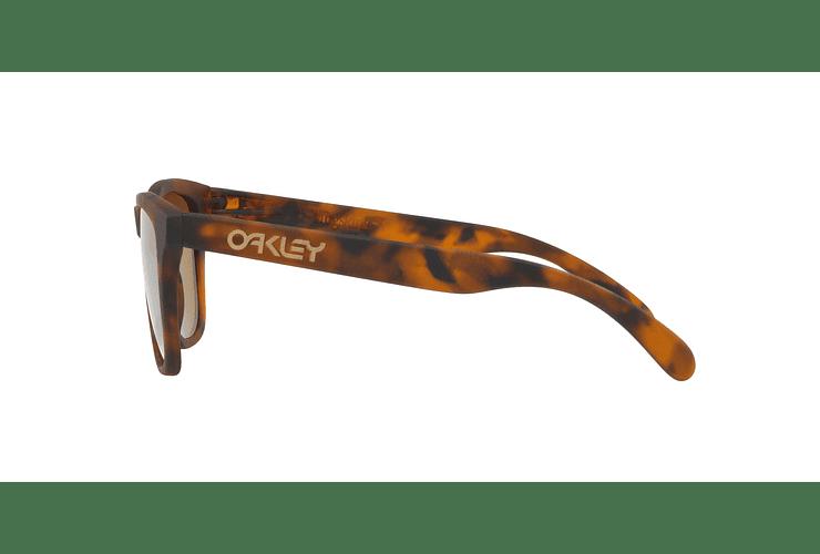 Oakley Frogskins Matte Tortoise lente Tungsten PRIZM cod. OO9013-C555 - Image 3